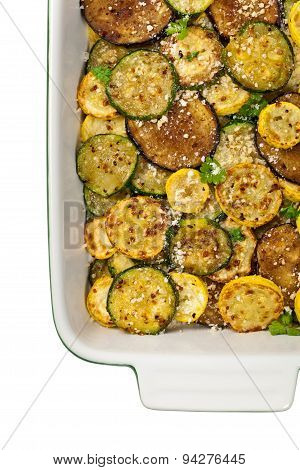 Sauteed Vegetables With Parmesan Cheese