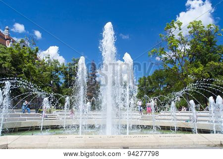 Fountain In Szeged