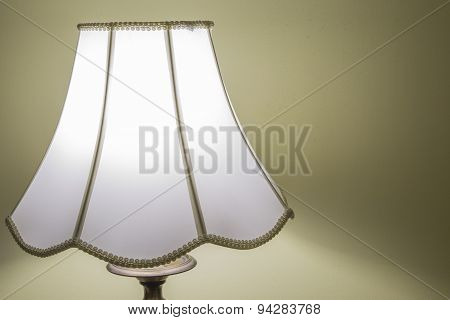 Old-fashioned bedroom light