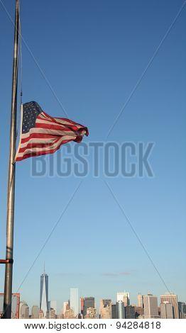 Flag over Manhattan