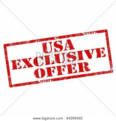 Usa Exclusive Offer