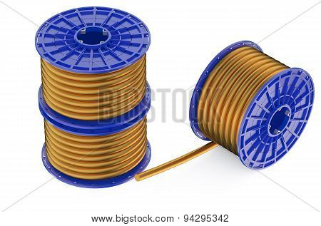 Coils Of Copper Wires