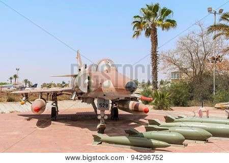 Air Force Kfir C7 Fighter Jet