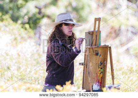 Artist In Action