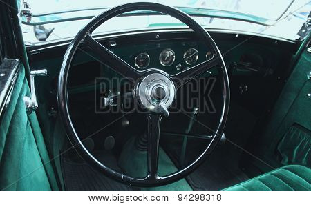 Retro  Car Interior (fragment)
