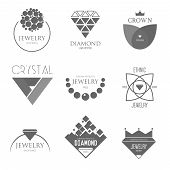pic of crown jewels  - Logo Inspiration With Jewels And Diamonds for business - JPG