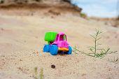 picture of dump_truck  - Toy dump - JPG