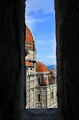 image of mary  - The Basilica di Santa Maria del Fiore (Basilica of Saint Mary of the Flower) in Florence Italy ** Note: Soft Focus at 100%, best at smaller sizes - JPG