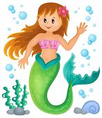 pic of mermaid  - Mermaid theme image 1  - JPG