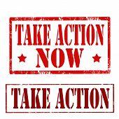 Постер, плакат: Take Action