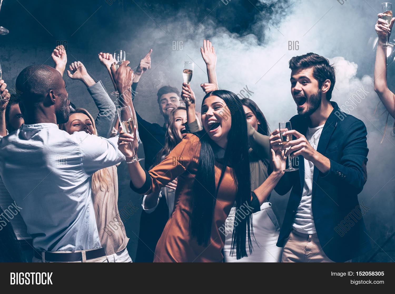 Group Of People Dancing 111