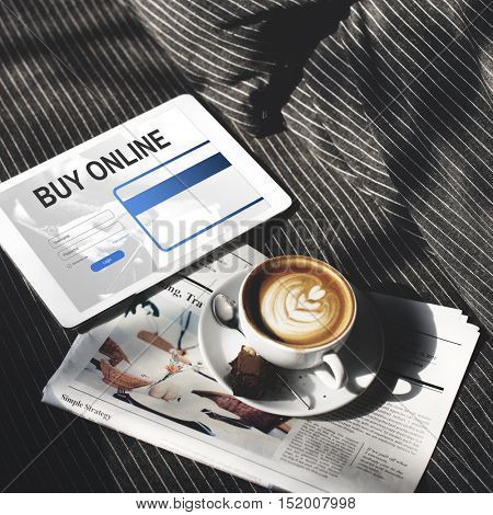 Buying Online Shopping Consumerism Internet Concept