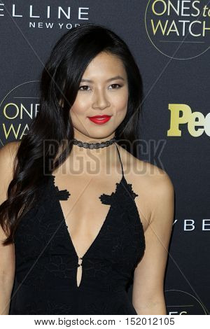 LOS ANGELES - OCT 13:  Christine Ko at the People's One To Watch Party at E.P. & L.P on October 13, 2016 in Los Angeles, CA
