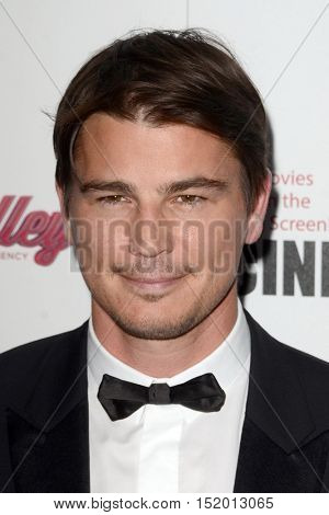 LOS ANGELES - OCT 14:  Josh Hartnett at the 2016 American Cinematheque Awards at Beverly Hilton Hotel on October 14, 2016 in Beverly Hills, CA