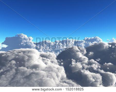Clouds  3D Render