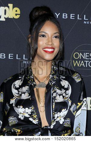 LOS ANGELES - OCT 13:  Lex Scott Davis at the People's One To Watch Party at E.P. & L.P on October 13, 2016 in Los Angeles, CA