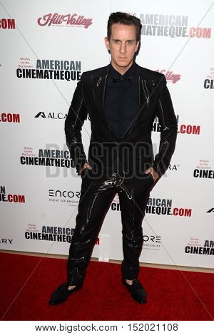 LOS ANGELES - OCT 14:  Jeremy Scott at the 2016 American Cinematheque Awards at Beverly Hilton Hotel on October 14, 2016 in Beverly Hills, CA