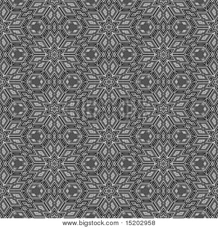 Escher cube graphic seamless