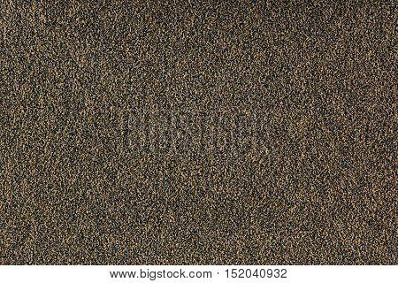 Brown monotone grain texture. Grey sand background.