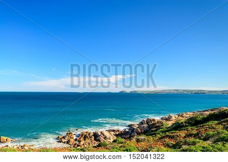 Dramatic view at Horseshoe Bay in Port Elliot South Australia