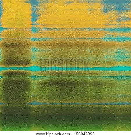 Elegant vintage background, antique texture. Designed grunge template with different color patterns: yellow (beige); brown; gray; green; blue; cyan