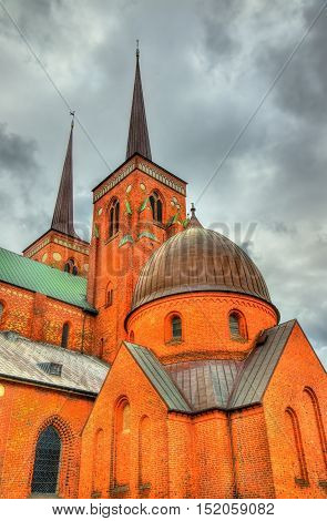 Roskilde Cathedral, a UNESCO World Heritage Site in Denmark