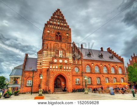 The Old City Hall of Roskilde in Denmark