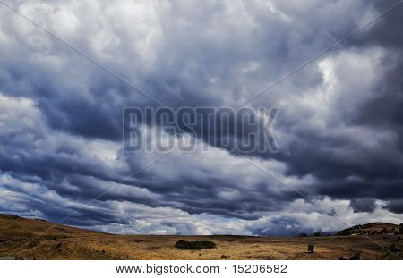 A photography of a dark sky background