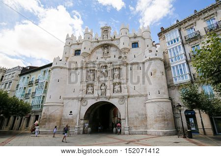 Burgos Historic City Gate