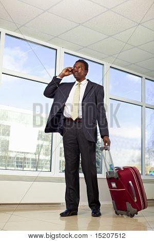 African American businessman travel