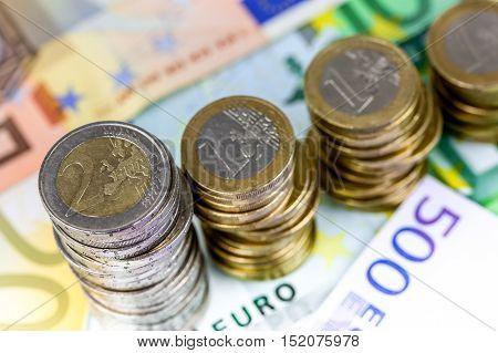 Single European Currency Decreasing