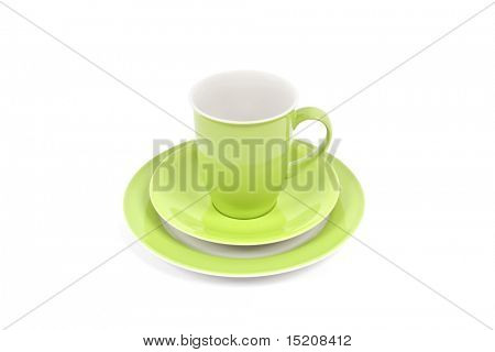 An image of a nice green coffee cup