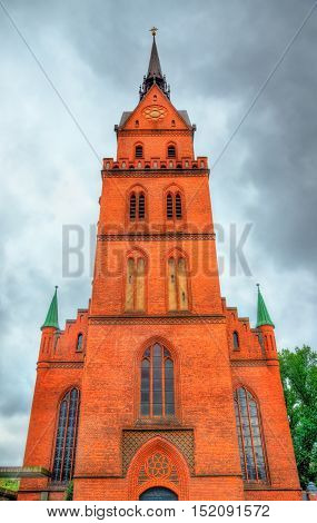 The Sacred Heart Church in Lubeck - Germany