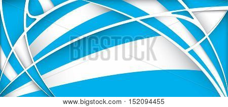Abstract background with colors of Argentina flag - Vector image