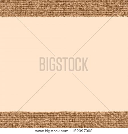 Textile pattern, fabric patch, brown canvas, artists material house background