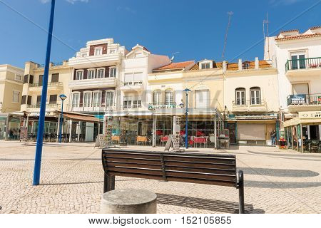 Street View Of Nazare.