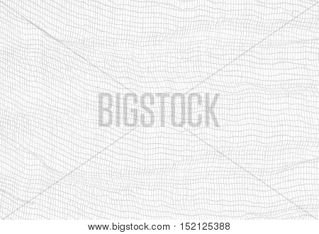 gauze closeup on white, abstract background or texture