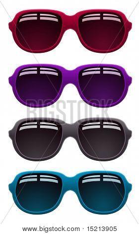 Vector diseño de gafas de sol