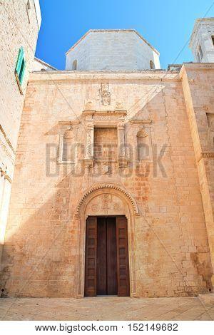 Duomo of St. Corrado. Molfetta. Puglia. Italy.