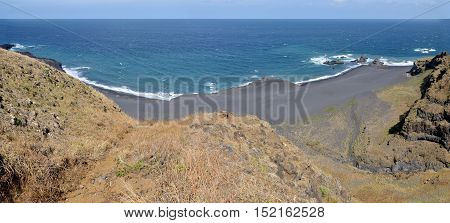 Stretch If Black Sand Beach