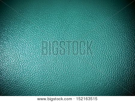 green leatherette Surface texture as background grung texture