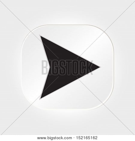 Web Buttons Icon For Website Or App. Vector Eps 10.