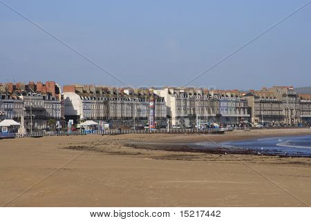 Weymouth Esplanade in Dorset England.