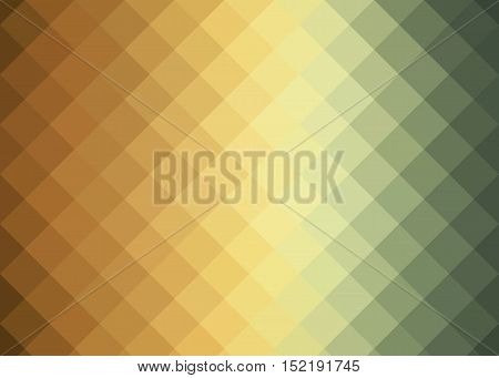 background with brown, orange, yellow and green squares