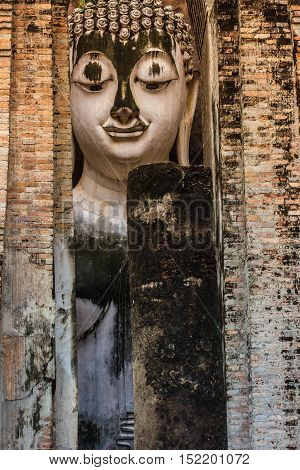image of Buddha at public temple Thailand