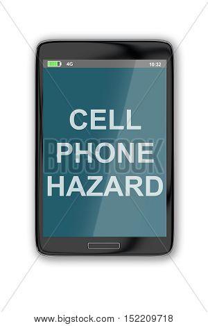 Cell Phone Hazard Concept