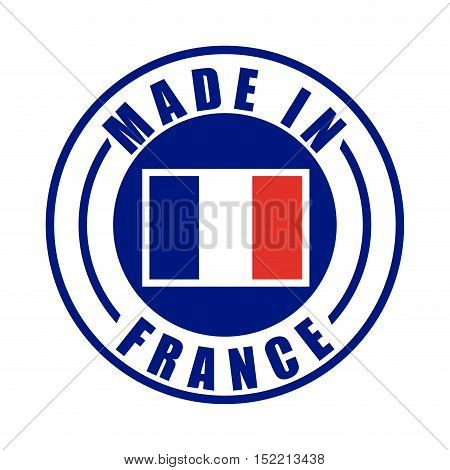 made in france stamp vector illustration design