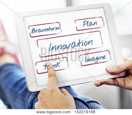 Innovation Be Creative Fresh Ideas Inspire Concept