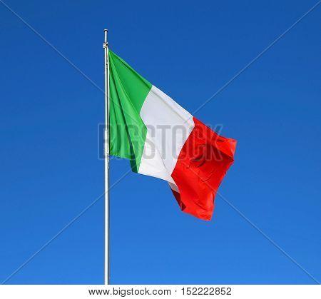 Great Italian Flag Waving