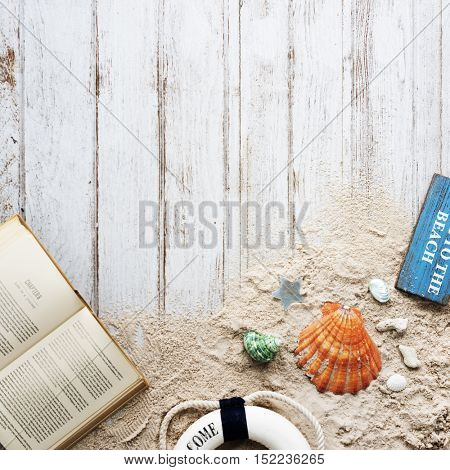 Sea Ocean Decorations Book Concept